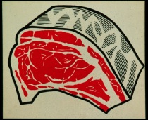 R. Lichtenstein, Meat